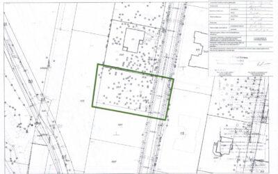 Land for sale (1090m2), Izabelin, Warsaw West – PLN 760 000